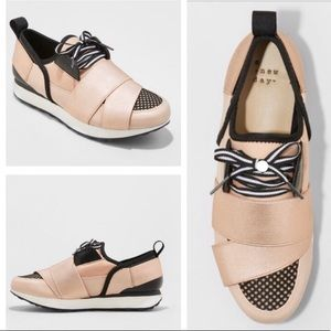NWT A New Day sz7 Lacey rose gold banded sneakers